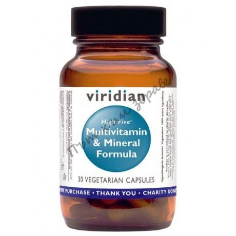 ВИРИДИАН HIGH FIVE Комплекс Витамини и Минерали– 30/90 капсули