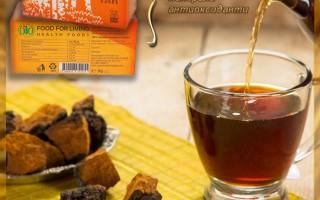 Чай от гъба Чага